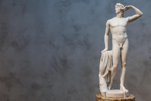 아폴로의 이상적인 몸매와 균형잡힌 포즈