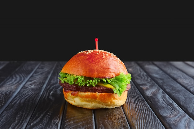 Appetizer for reception. small burger