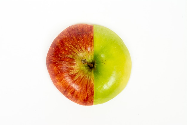 Apple cut into slices
