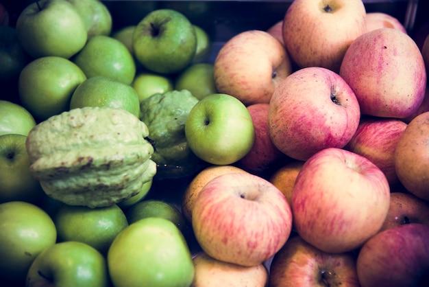Apple green apple guava