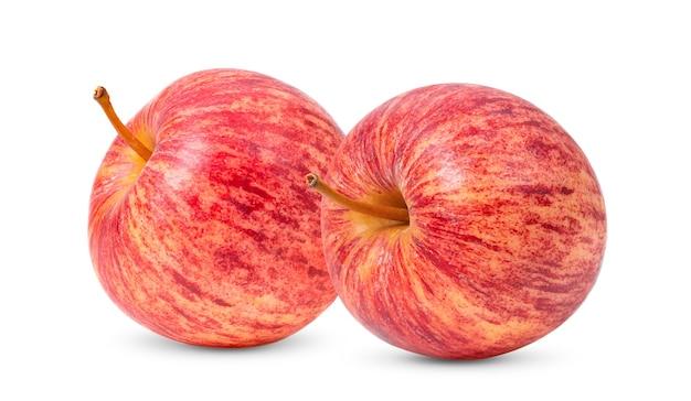 アップルは白い背景で隔離