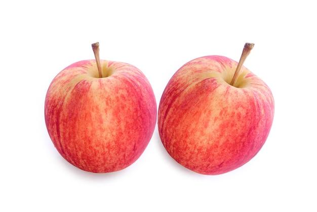 アップルは白で隔離