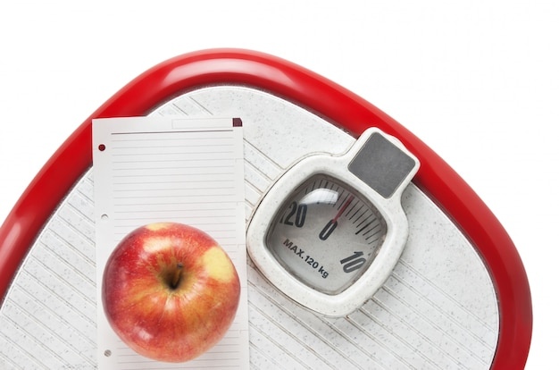 Apple and a note on the floor scales