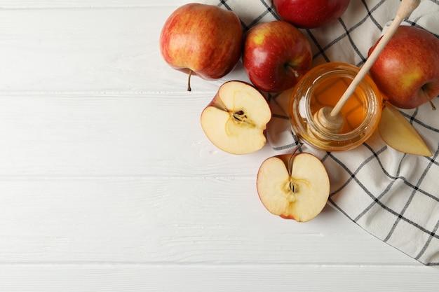 사과, 꿀 나무, 평면도