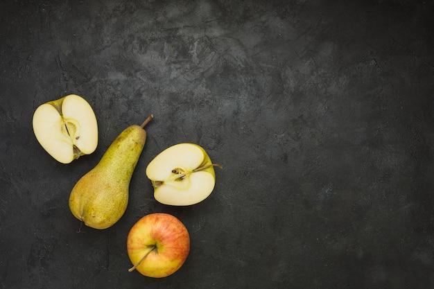 りんごとナシ