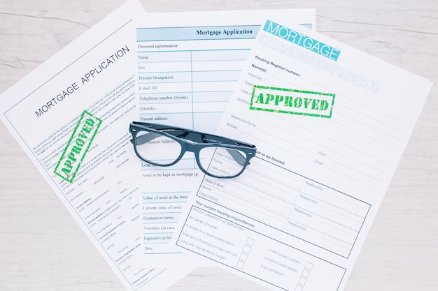 Approved applications for credit loan