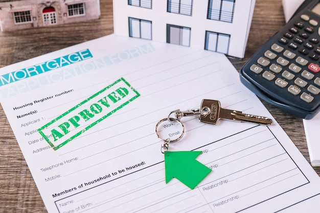 Approved credit request for real estate
