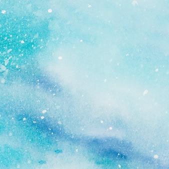 Aqua mix of paints on paper