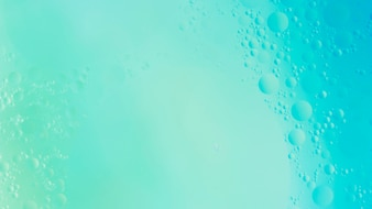 Aqua textured bubble backdrop