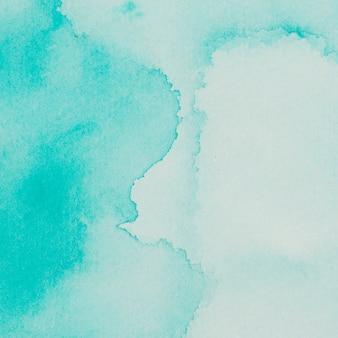 Aquamarine mix of paints on paper