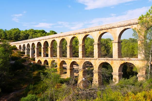 Aqueduct de les ferreres a tarragona