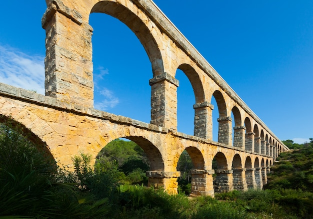 Aqueduct de les ferreres。タラゴナ