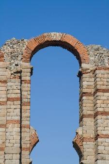 The aqueduct of the miracles of merida - emerita augusta