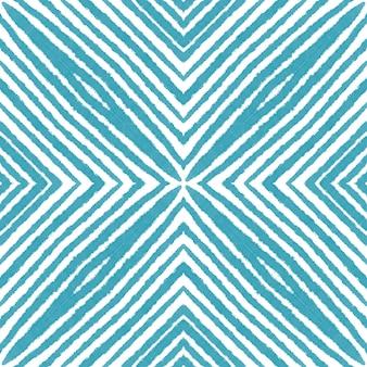 Арабески рисованной узор. бирюзовый симметричный фон калейдоскопа. текстиль готов, стильный принт, ткань для купальников, обои, упаковка. восточный арабески рисованной дизайн.
