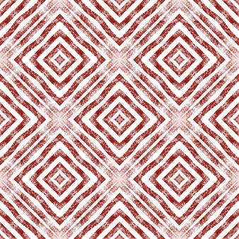 Arabesque hand drawn pattern. wine red symmetrical kaleidoscope background. textile ready beautiful print, swimwear fabric, wallpaper, wrapping. oriental arabesque hand drawn design.