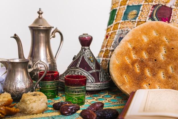 ラマダンの紅茶アラビア料理