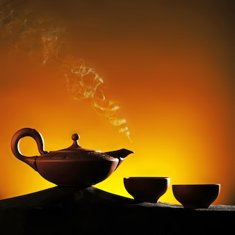 Arabian teapot with