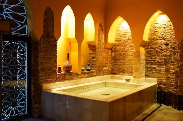 Arabic baths hammam in granada