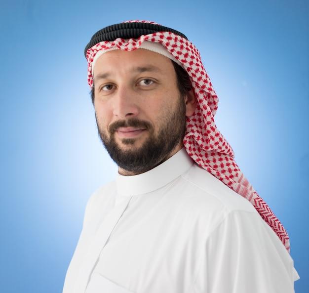 Arabic businessman posing