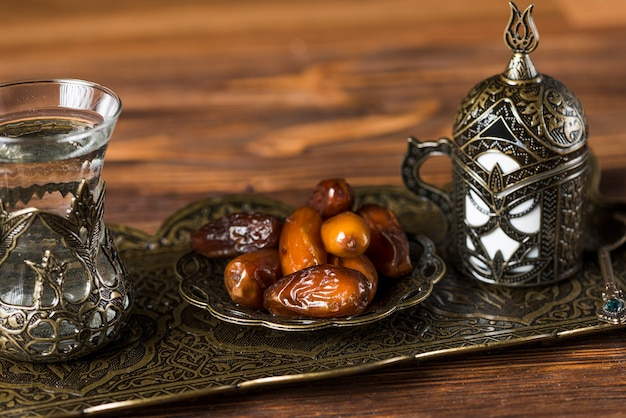Arabic food composition for ramadan
