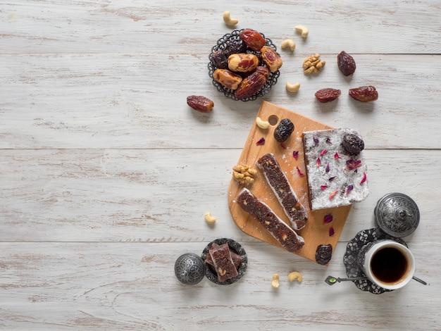 Арабские домашние сладости. мармелад фиников.