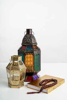 Arabic lantern on white