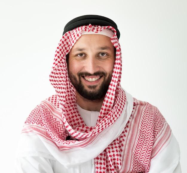 Arabic man posing