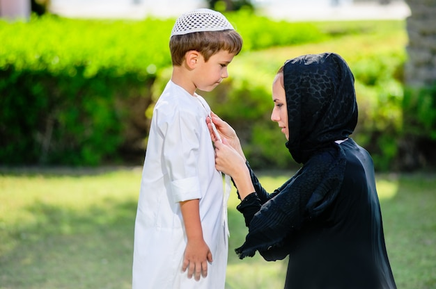 Arabic mother ang song outdors