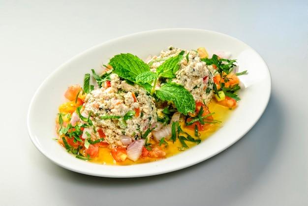 Arabic traditional food/arabian tasty set menu meals/ egyptian arbic food on table