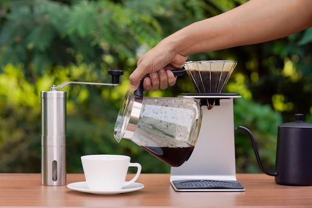 Кофе в зернах арабика и набор для капельного кофе