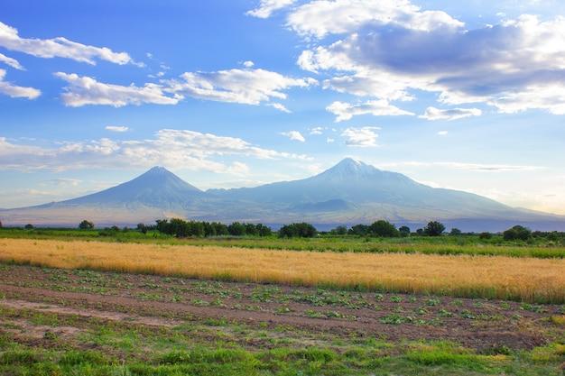 アララト山の風景