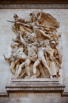Arc de triomphe in paris arch of triumph