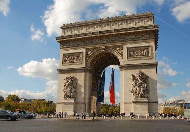 凱旋門、パリ