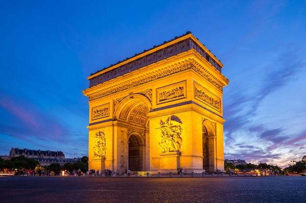 Arc of triomphe paris
