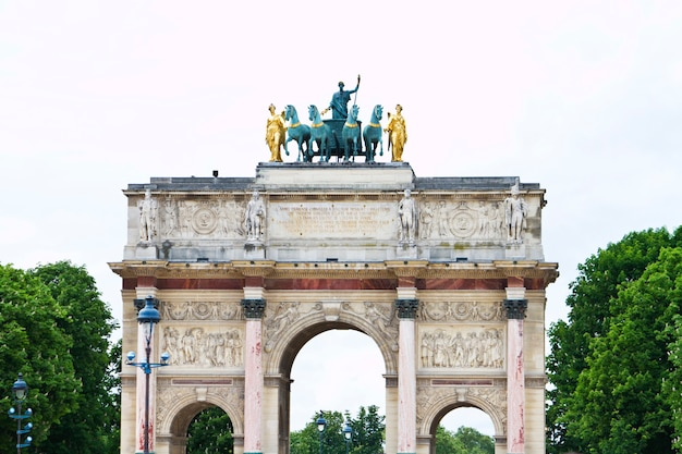 Arc of triumph du carrousel