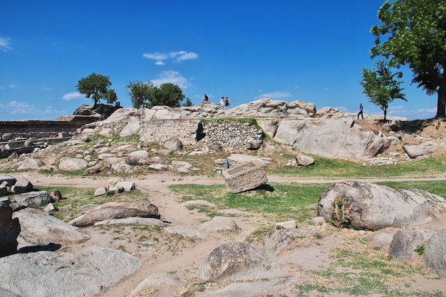ブルガリア、プロブディフの考古学コンプレックスネベットテペ