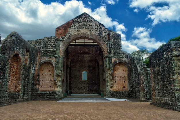 Археологические раскопки кафедрального собора старой панамы