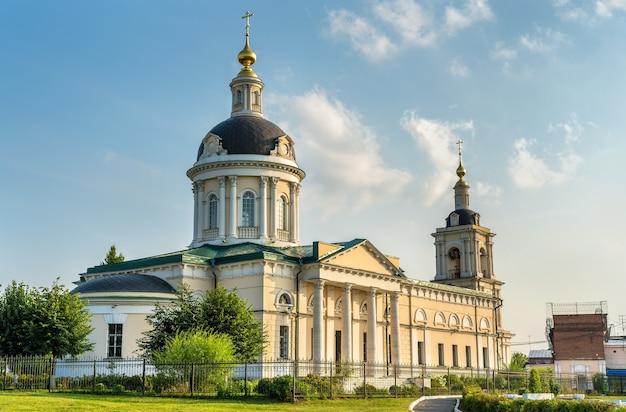 Церковь архангела михаила в коломне, золотое кольцо россии