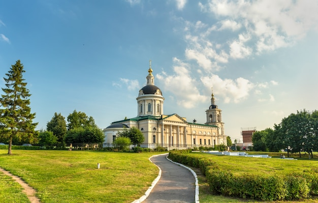 Archangel michael church in kolomna, the golden ring of russia