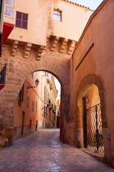 Arches of barrio calatrava los patios in majorca at palma de mallorca
