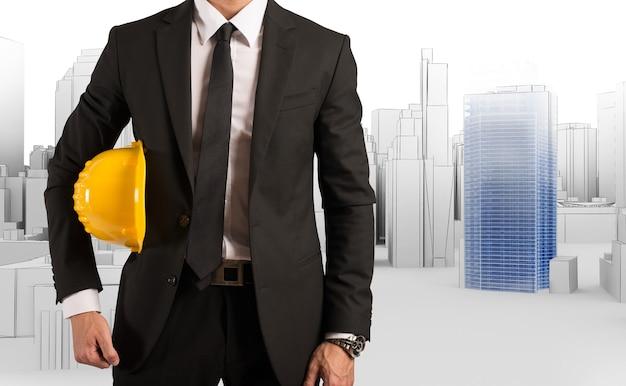 建築家が新しい都市サイトプロジェクトを承認