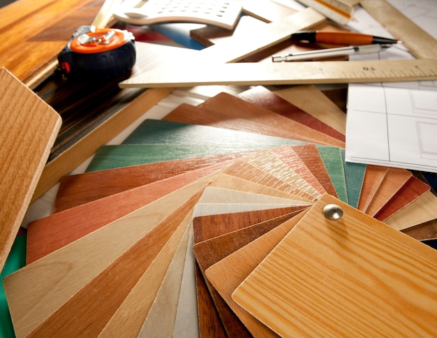 Architect interior er workplace carpenter