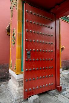 中国、北京、西城区、紫禁城の建築の詳細
