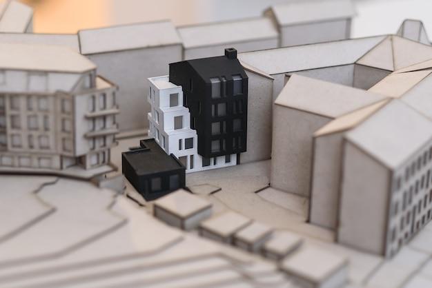 Архитектурно-подробный план будущего жилого квартала