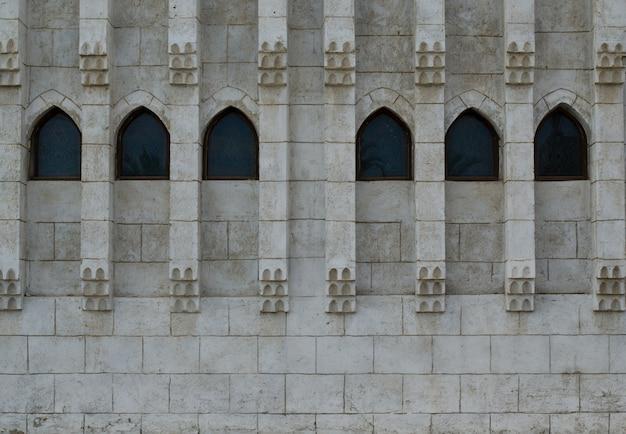 Architectural elements of mosque el mustafa in sharm el sheikh.