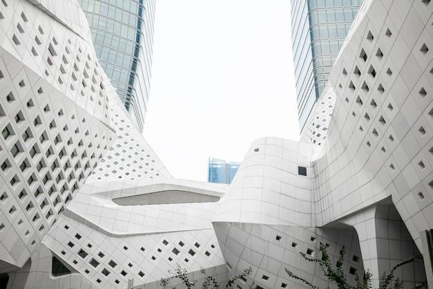 Архитектурные особенности нанкинского международного молодежного культурного центра