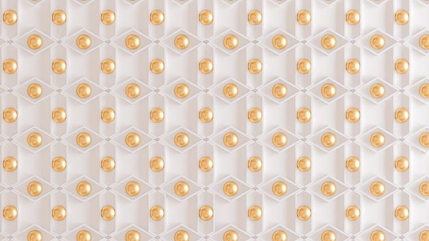 Architectural, interior pattern, white, yellow, gold texture wall. 3d rendering.
