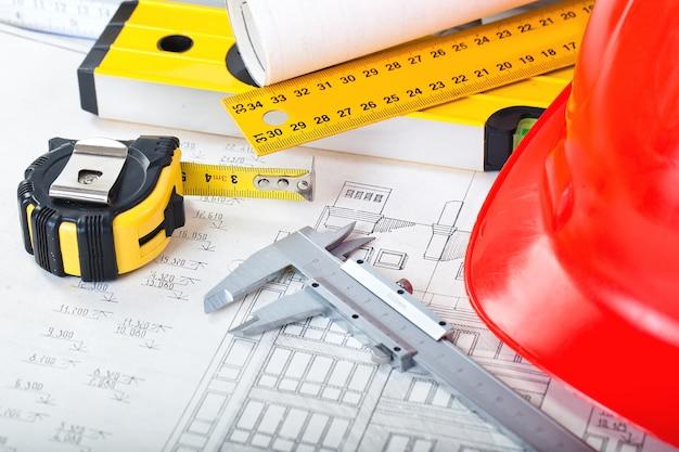 테이블의 belolm 공간의 건축 계획 및 객체