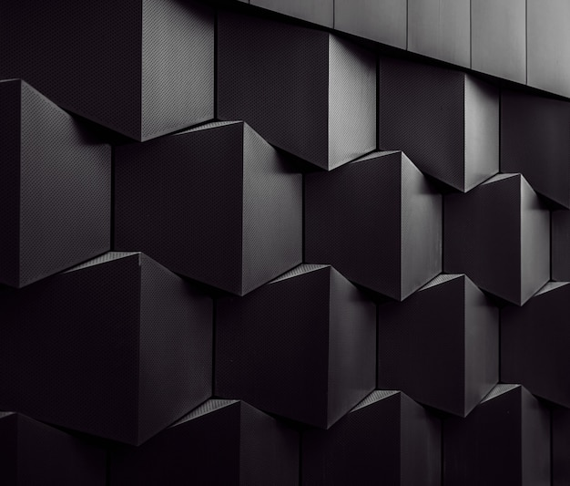 Architectural wall pattern