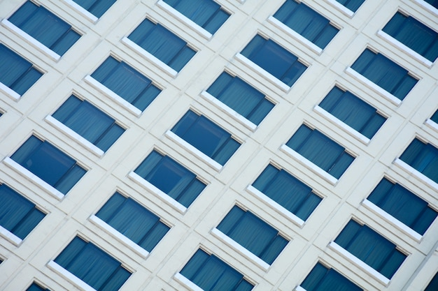 Architectural of window building pattern